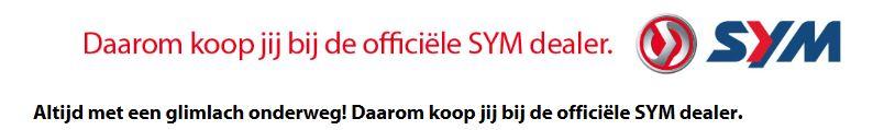 Jouw officiële SYM dealer