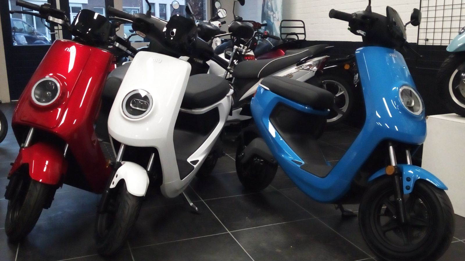 Nu in de showroom: Elektrische scooter NIU