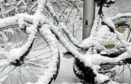 Elektrische fiets in de winter
